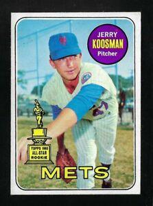 1969 Topps - #90 - Jerry Koosman - EX-NM+ - Centered!