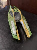 Star Wars Green Ship Koro-2 Zam Wesell Speeder Episode II Hasbro 2002 Complete