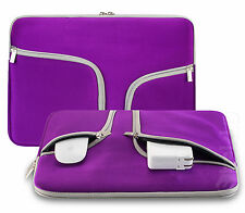 """Soft Sleeve Bag Case Cover Pouch for 10"""" 11"""" 12""""  13"""" 15"""" MacBook Air/Pro Laptop"""