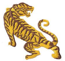 Patch écusson brodé patche Tigre Tiger thermocollant transfert embellissement