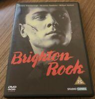 Brighton Rock DVD (2002) Richard Attenborough, Boulting (DIR) cert PG