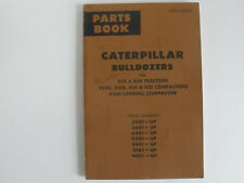 Vintage Caterpillar Bulldozers parts book