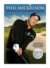 Phil Mickelson - Golf Secrets Of the Short Game - 2-Disc DVD -- NEW & SEALED