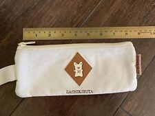 New Zashikibuta Pig 1994 Pencil Case Pouch Bag Zipper Vintage Hello Kitty Sanrio