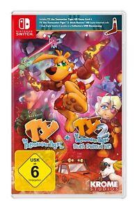 TY the Tasmanian Tiger HD + TY 2: Bush Rescue HD (Nintendo Switch) (Neuware)