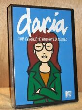 Daria: The Complete Animated Series (DVD, 2010, 8-Disc) NEW includes both movies