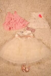 Baby Girl Dresses 6-9 months Used