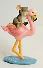 Charming Tails 82/112 High And Dry Limited Numbered Edition Mouse Flamingo