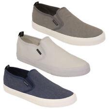 Zapatillas de lona de hombre textiles