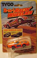 Tyco Racin' Wheelies Corvette, Orange 'Shark' #7083 MOC from 1982