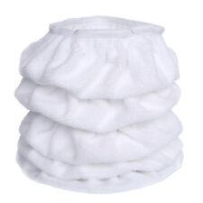 "5PCS 5-6"" 150mm White Cotton Car Buffing Pads Wax Polisher Bonnet Buffer Covers"
