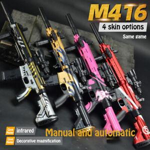 M416 Electric Gel Blaster Toy Sniper Rifle Shooting Darts Gel Gun Kids Toy new