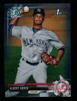 Albert Abreu ⚾ 2017 Bowman Chrome Prospects #BCP153 NM-MT Yankees
