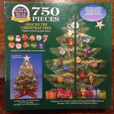 NEW Around the Christmas Tree & Ornaments 3D Puzzle 750 Pcs (1997)