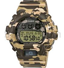 Casio G-Shock Digital 200m Brown/Green Camo Resin Watch GMDS6900CF-FREE SHIPPING