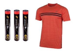 Emballage de Test Dunlop Aeroflite Numéro 2 Badminton Volant Haut de Gamme