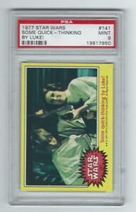 1977 Topps Star Wars Yellow series 3 #141 Graded Card PSA 9 low pop