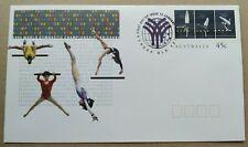 1994 Australia World Gymnastic Championship FDC PSE (Pre Stamped Envelope)