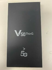 LG V50 ThinQ 128GB Black (Sprint) Worldwide GSM Unlocked New Open Box Read Note