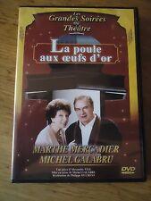 DVD * LA POULE AUX OEUFS D'OR * MARTHE MERCANDIER MICHEL GALABRU VIAL AU THEATRE