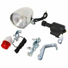 Motorized Bicycle Friction Dynamo Generator Head Tail Light Tool Accessories