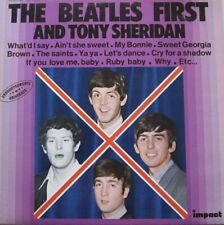 """THE BEATLES FIRST AND TONY SHERIDAN   - VINYL 12"""" - 33 RPM"""
