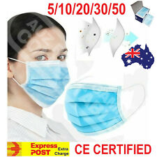 Protective Face Mask CE CERTIFIED 3 Layer