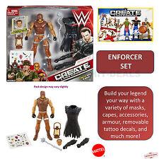 WWE Create a Superstar Deluxe ENFORCER SET Dean Ambrose Wrestling Figure Masher