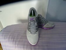 MENS NIKE LUNARGLIDE 2 LEATHER/TEXTILE MULTI TRAINERS UK 8/EU 42.5 GREAT COND