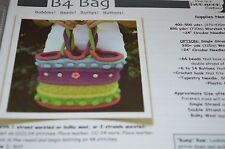 B4 Bag Bobbles Bumps Beads Buttons Felted Knitting Pattern