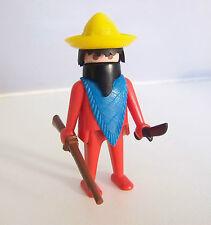 PLAYMOBIL (B4139) WESTERN - Bandit Mexicain du Set Vintage 3407 de 1978