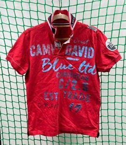 CAMP DAVID Herren Poloshirt Gr.M