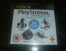 PS3 RIVISTA UFFICIALE DEMO DISC NUMERO 64 Blu Ray area 2 PAL