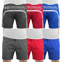 Mens Swim Shorts Crosshatch Brekkon Casual Mesh Lined Summer Swimming Trunks