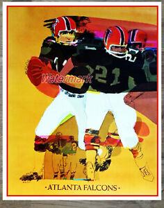 Vintage NFL Atlanta Falcons Reprint Color Print 8 X 10 Photo Picture