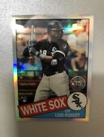 Luis Robert 2020 Topps Chrome Refractor 35th Anniversary Rookie Card RC.