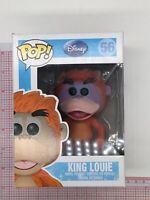 Funko Pop Disney KING LOUIE Vinyl Figure 56 Vaulted NOT MINT BOX B02