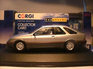 WOW EXTREMELY RARE VANGUARDS 1/43 SCALE SILVER 1983 FORD SIERRA XR4i SUPERB NLA