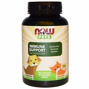 NOW Foods,Animaux de Compagnie,Immunitaire Support Machables pour Chiens & Les -