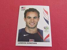 355 L. DONOVAN USA PANINI FOOTBALL GERMANY 2006 WM FIFA WORLD COUPE DU MONDE
