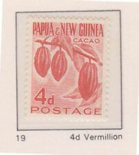 Plants Papua New Guinean Stamps