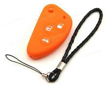 Orange Silicone Case Cover For Alfa Romeo 147 156 166 GT Remote Flip Key 3BTS