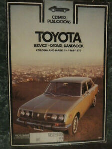 Service Repair Manuals For Toyota Corona For Sale Ebay