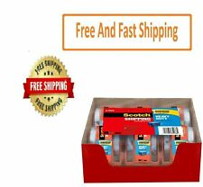 Scotch Heavy Duty Shipping Packaging Tape Dispensers 188 X 277 Yd 6 Pack