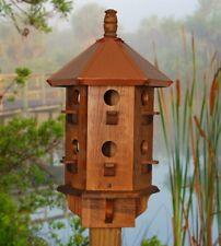 Large Bird House Copper Birdhouse Purple Martin Box