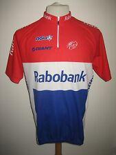 Rabobank MOERENHOUT Holland rare jersey shirt cycling wielershirt size XL