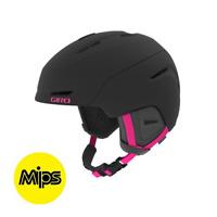 Giro Avera Mips S M Donna Sci Snowboard Sport Casco Nero Rosa 240155 Nuovo