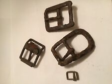 Lot Of Relic Harness Buckles