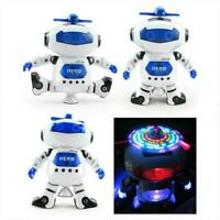 Toys For Boys Robot Kids Toddler Robot Dancing Musical Birthday Xmas Gifts O6A1