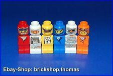 Lego 6 x Mikrofiguren in verschiedenen Farben - Microfig Ramses - NEW / NEU